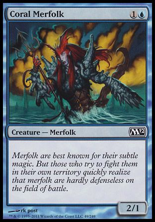 Coral Merfolk, Magic 2012