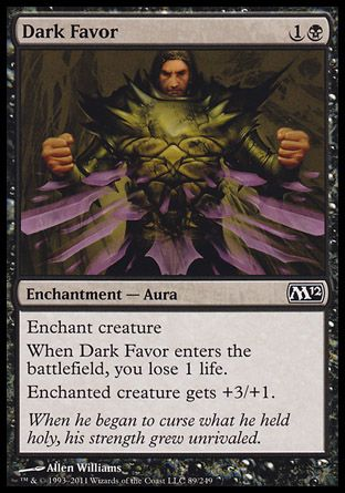 Dark Favor, Magic 2012