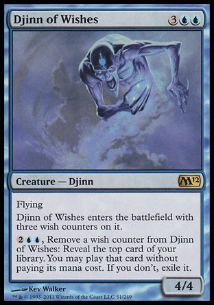 Djinn of Wishes, Magic 2012