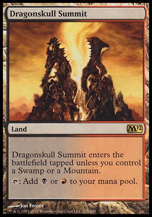Dragonskull Summit, Magic 2012