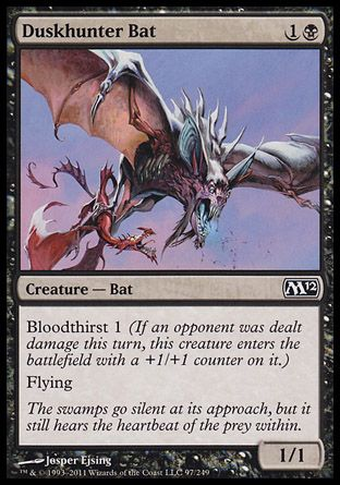 Duskhunter Bat, Magic 2012