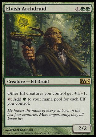 Elvish Archdruid, Magic 2012