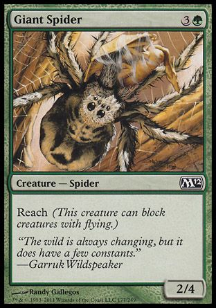 Giant Spider, Magic 2012