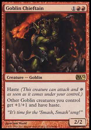 Goblin Chieftain, Magic 2012