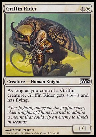 Griffin Rider, Magic 2012