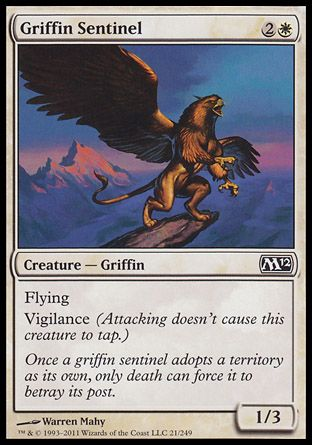 Griffin Sentinel, Magic 2012