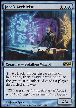 Jace's Archivist, Magic 2012