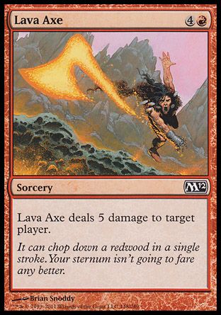 Lava Axe, Magic 2012