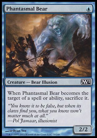 Phantasmal Bear, Magic 2012