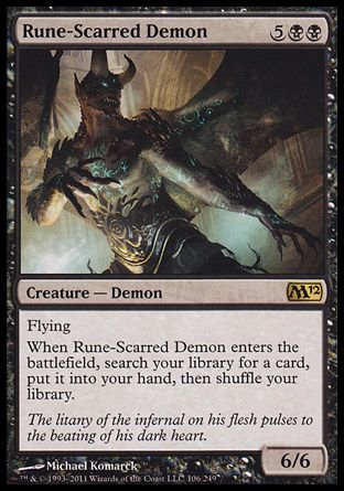Rune-Scarred Demon, Magic 2012