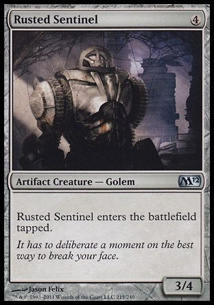 Rusted Sentinel, Magic 2012