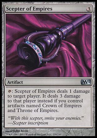 Scepter of Empires, Magic 2012