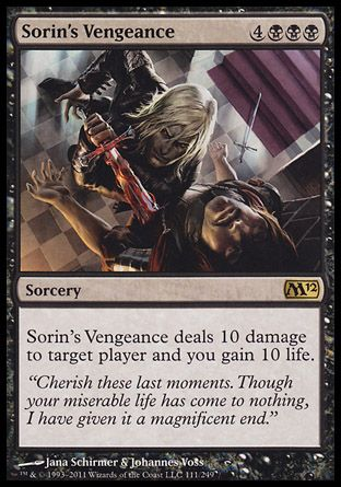 Sorin's Vengeance, Magic 2012