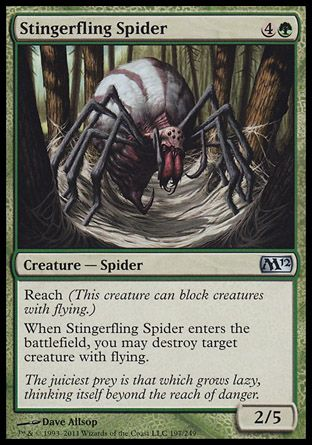 Stingerfling Spider, Magic 2012