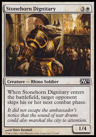 Stonehorn Dignitary, Magic 2012