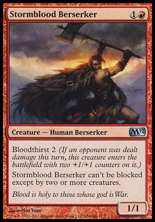 Stormblood Berserker, Magic 2012