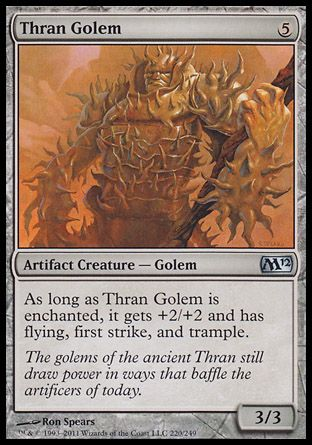 Thran Golem, Magic 2012