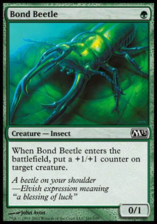 Bond Beetle, Magic 2013