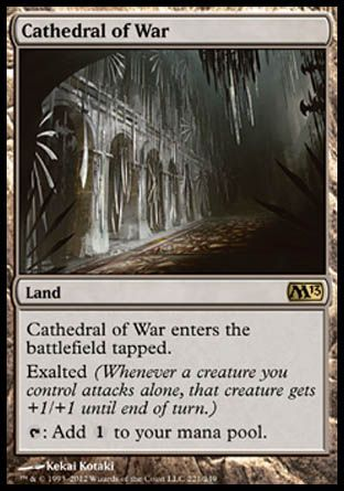 Cathedral of War, Magic 2013