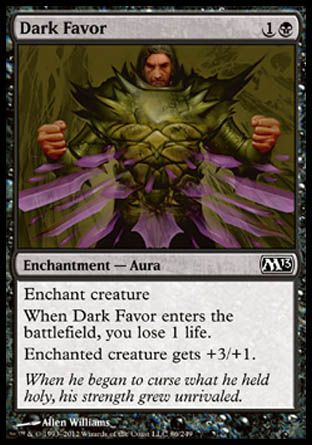 Dark Favor, Magic 2013