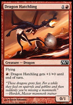 Dragon Hatchling, Magic 2013