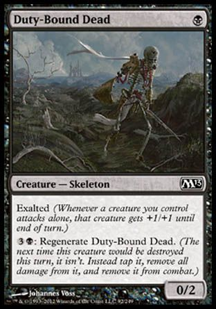 Duty-Bound Dead, Magic 2013