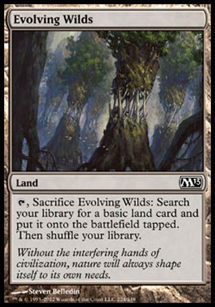 Evolving Wilds, Magic 2013