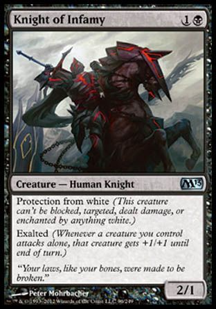 Knight of Infamy, Magic 2013