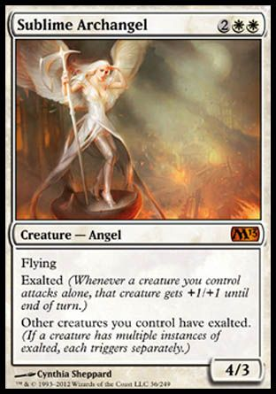 Sublime Archangel, Magic 2013