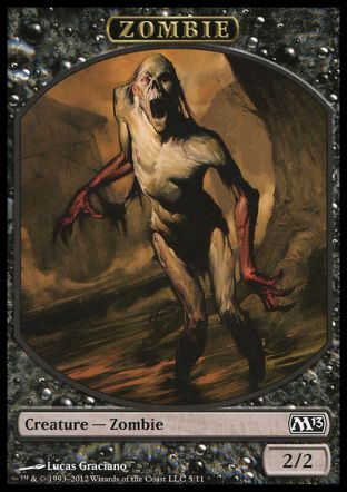 Zombie token, Magic 2013