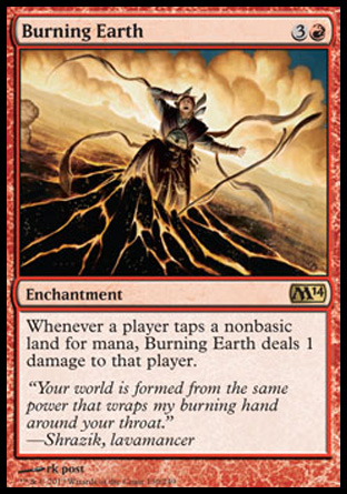 Burning Earth, Magic 2014