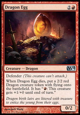Dragon Egg, Magic 2014