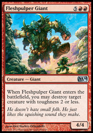 Fleshpulper Giant, Magic 2014