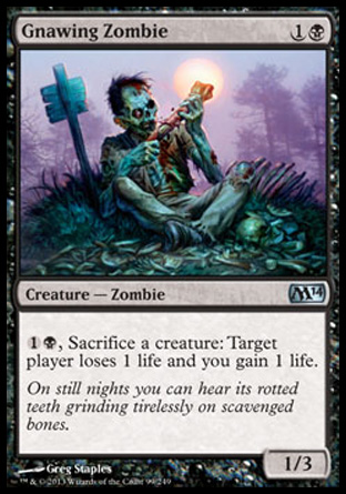 Gnawing Zombie, Magic 2014