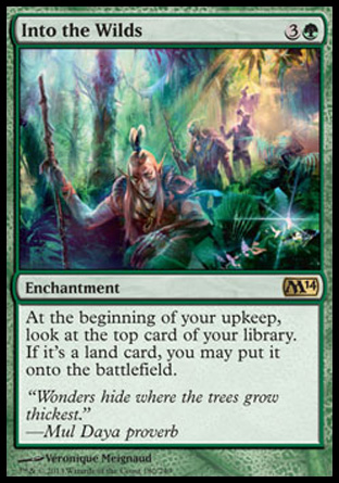 Into the Wilds, Magic 2014