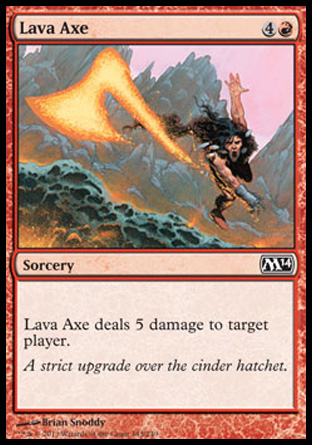 Lava Axe, Magic 2014