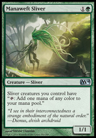 Manaweft Sliver, Magic 2014