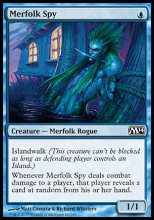 Merfolk Spy, Magic 2014
