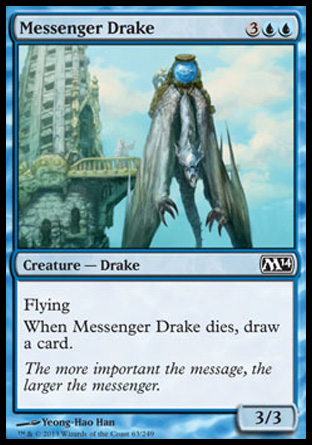 Messenger Drake, Magic 2014