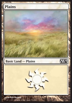 Plains, Magic 2014