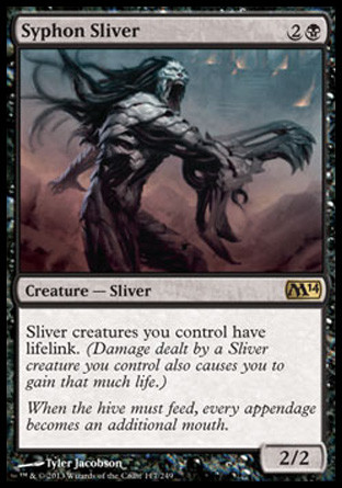 Syphon Sliver, Magic 2014