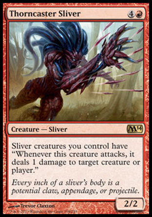 Thorncaster Sliver, Magic 2014
