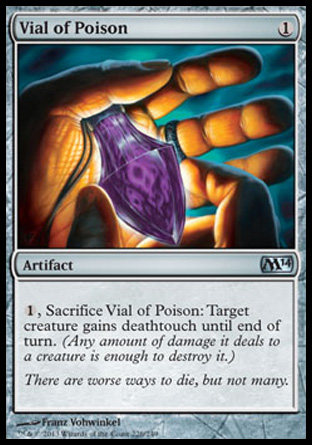 Vial of Poison, Magic 2014