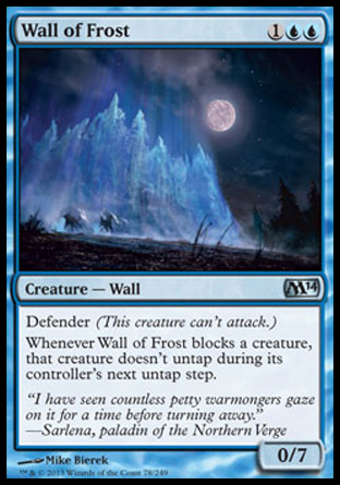 Wall of Frost, Magic 2014