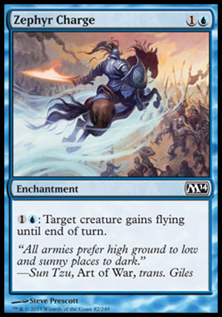 Zephyr Charge, Magic 2014