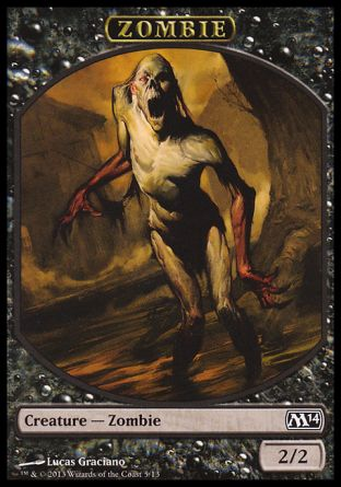 Zombie token, Magic 2014