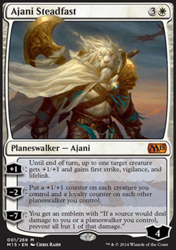 Ajani Steadfast, Magic 2015