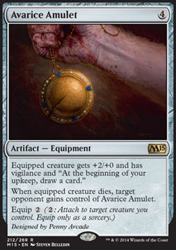 Avarice Amulet, Magic 2015