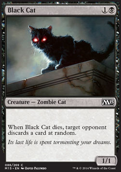 Black Cat, Magic 2015