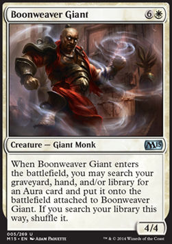 Boonweaver Giant, Magic 2015